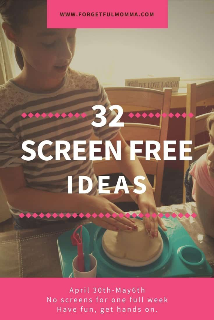 32+ Ideas for Screen Free Week