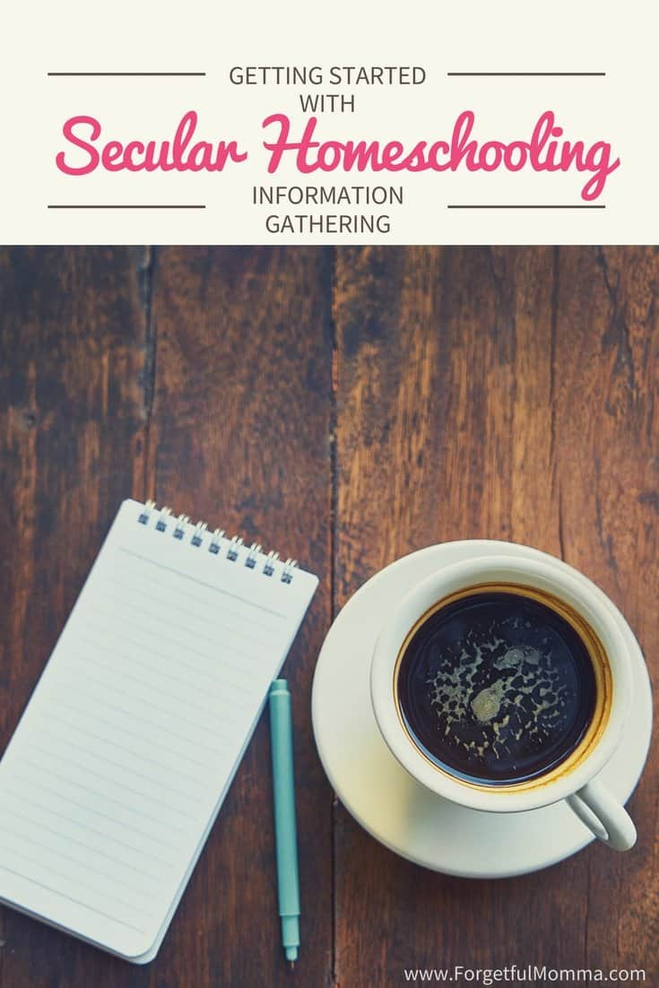 Getting Started with Secular Homeschooling