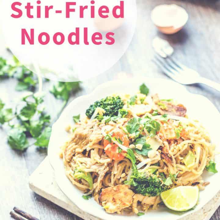 Thai Stir-Fried Noodles