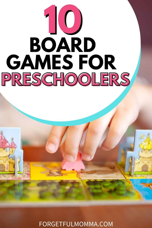 10 Board Games for Preschoolers