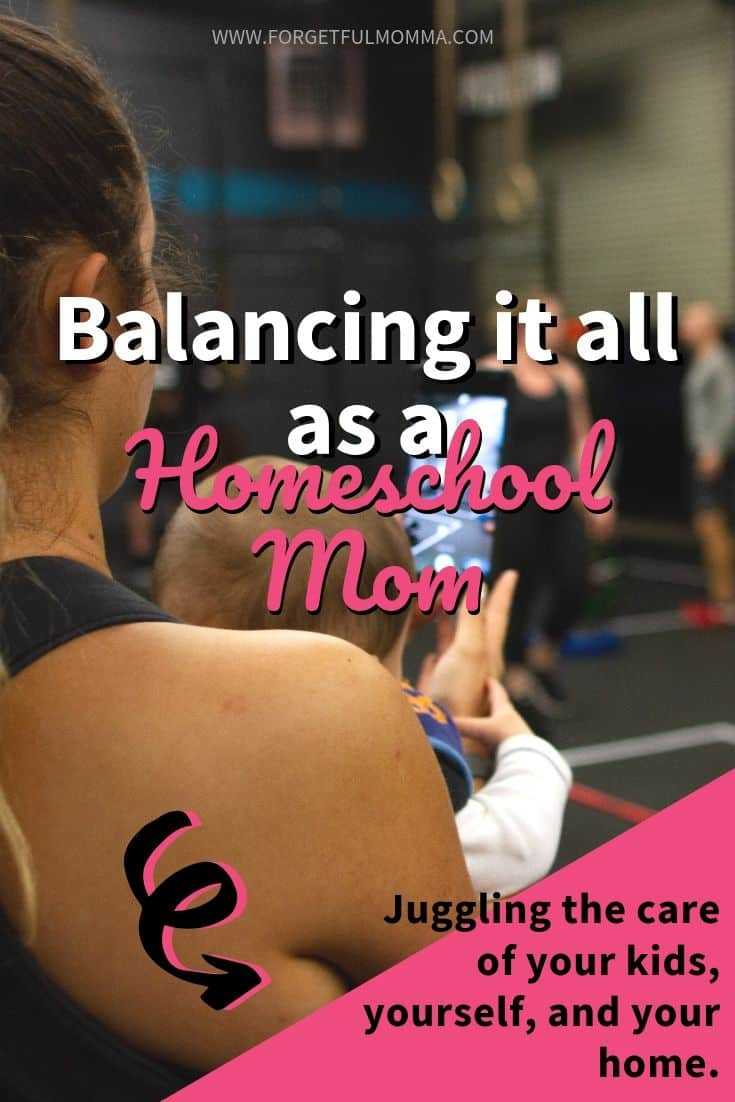 Homeschool Mom Balance