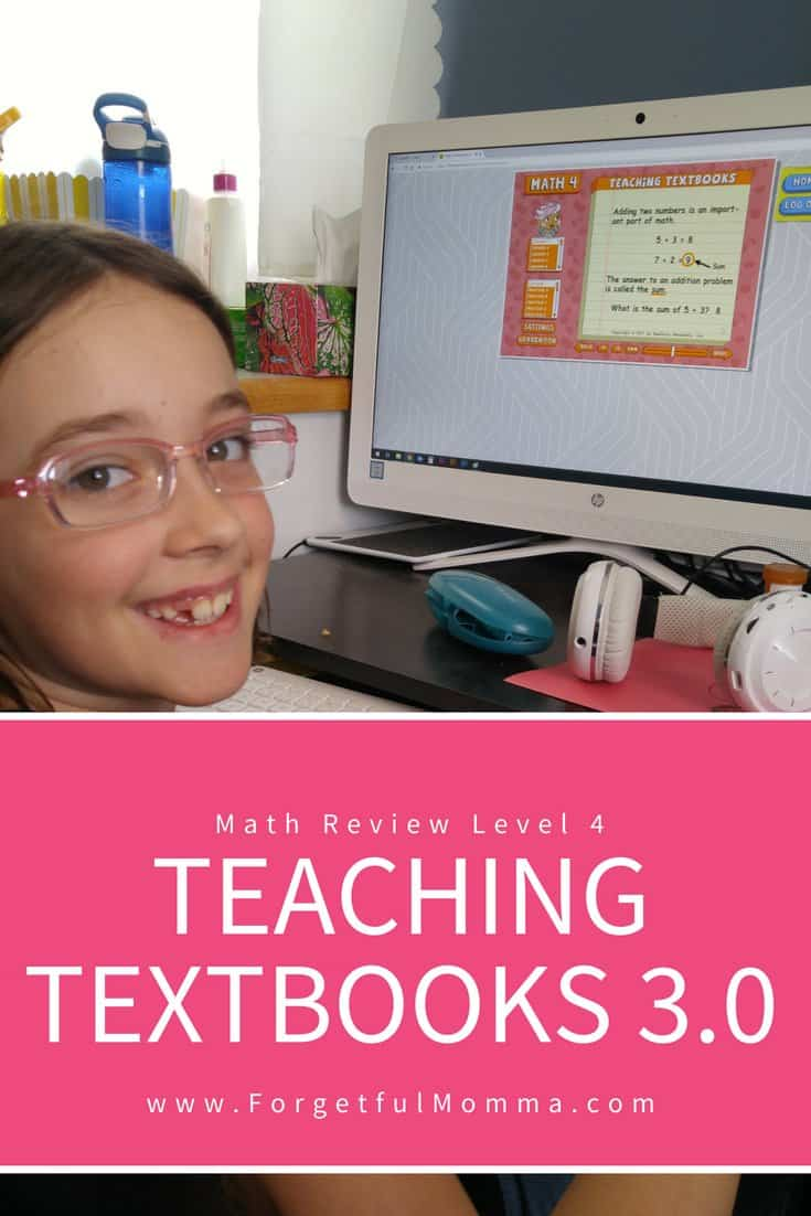 Teaching Textbooks 3.0 – Review of Level 4 Math