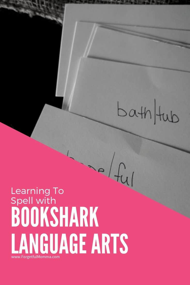 Learning To Spell with BookShark Language Arts - Level 2