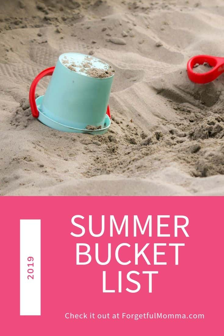 Our Summer Bucket List 2019