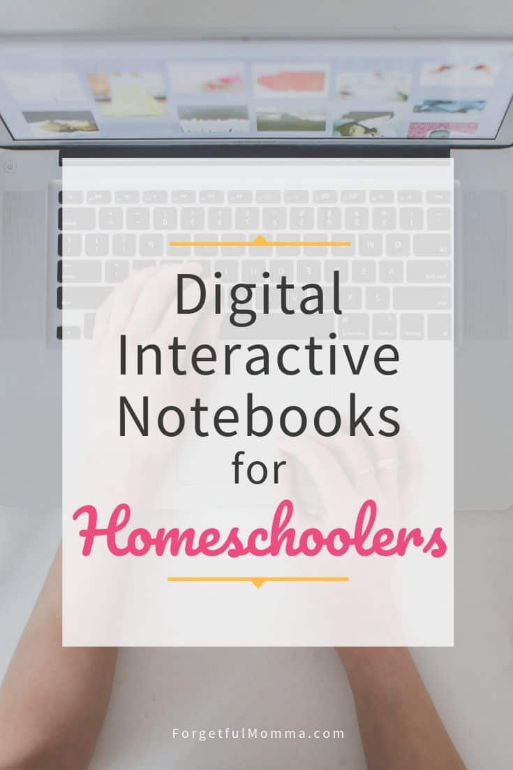 Digital Interactive Notebooks for Homeschooling