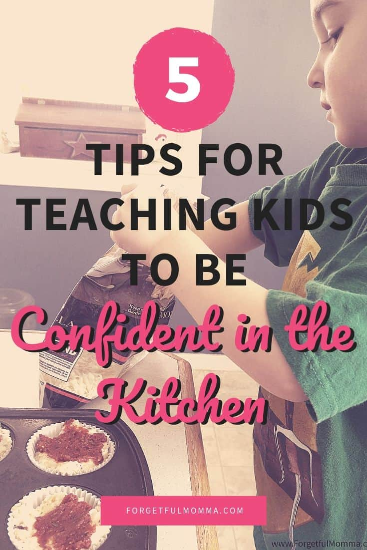 5 Tips for Teaching Kids to be Confident in the Kitchen