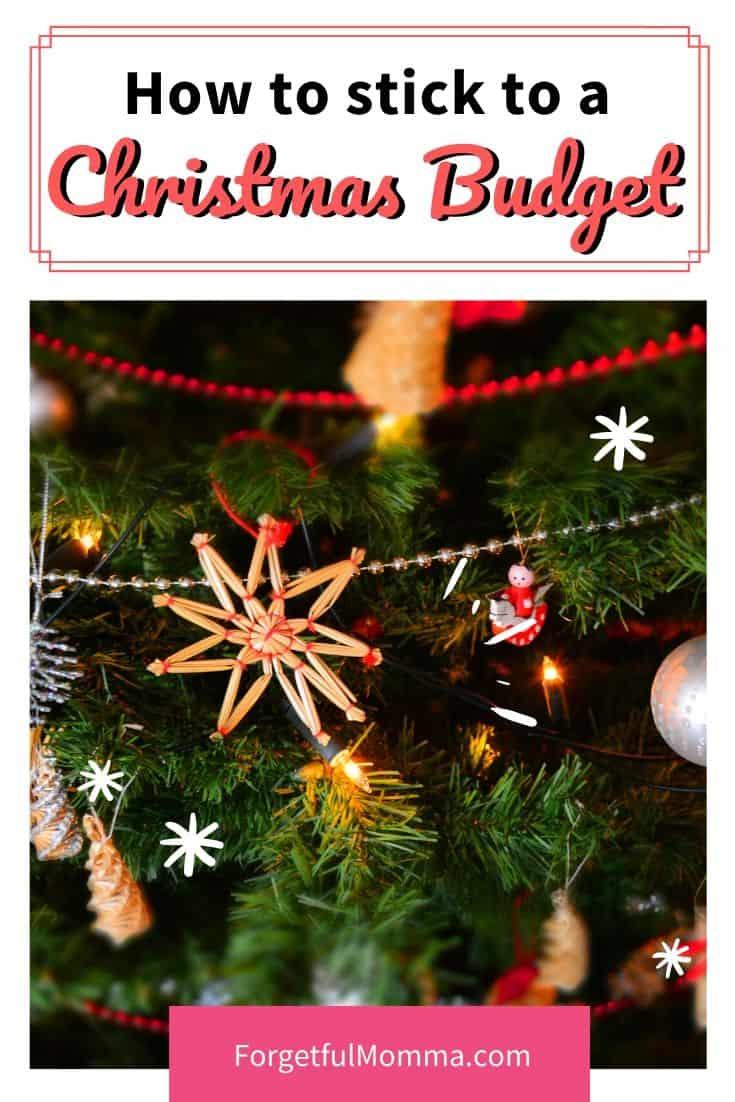How to Stick to a Christmas budget
