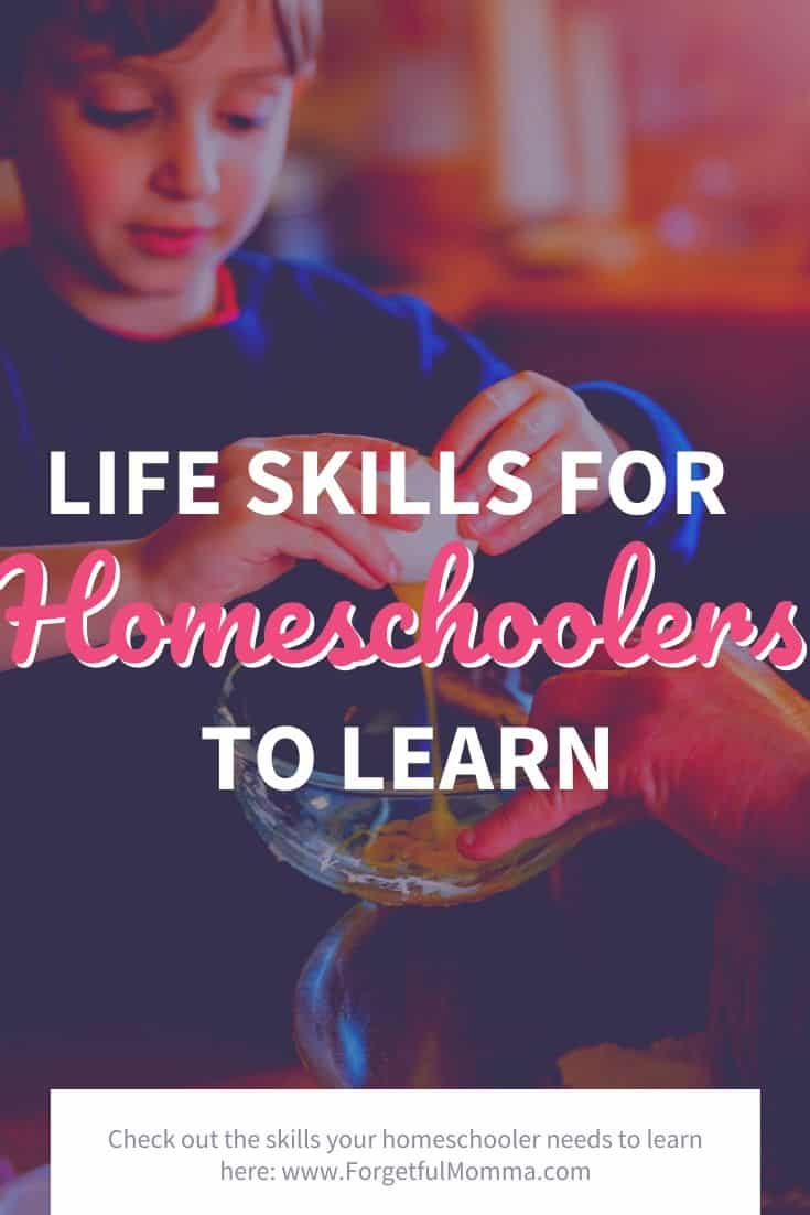Important Skills to Learn While Homeschooling