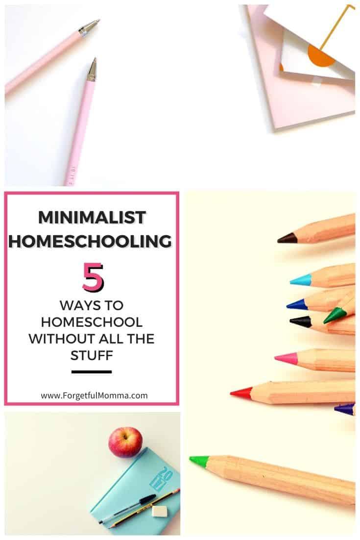 Minimalist Homeschooling – Homeschooling Without the Stuff