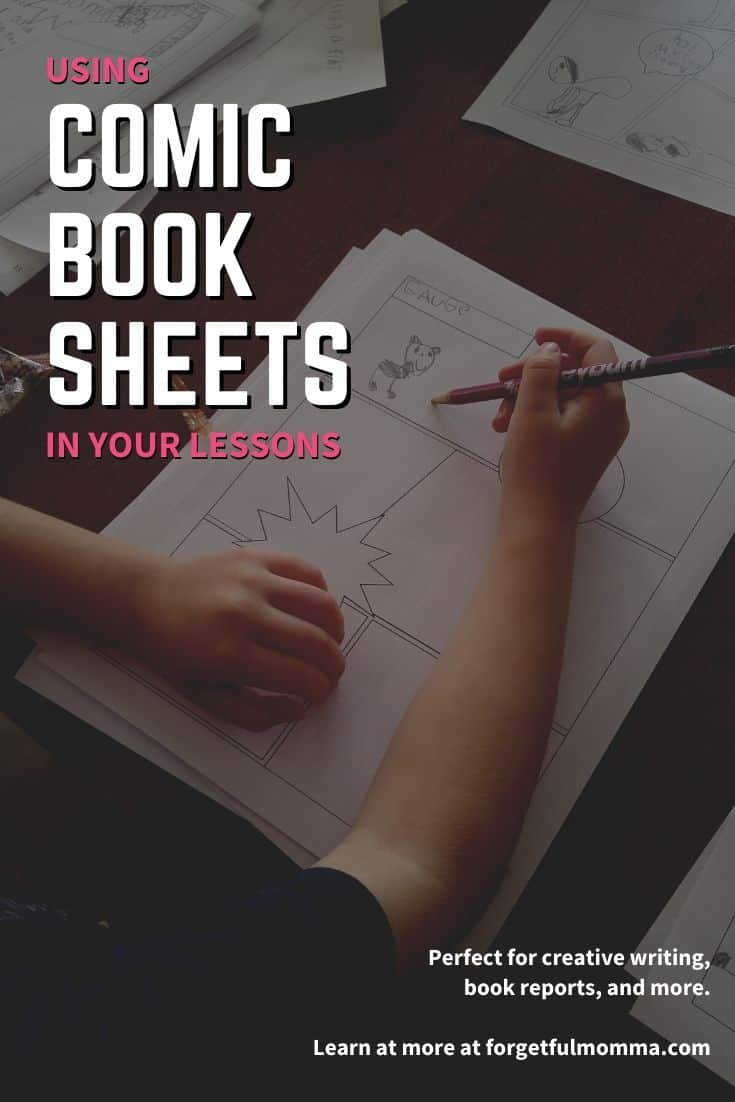 Using Comic Book Sheets in Your Lessons