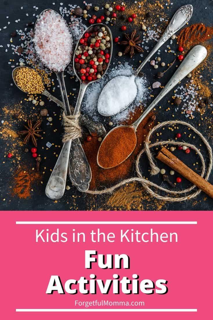 Kids in the Kitchen – Fun Activities