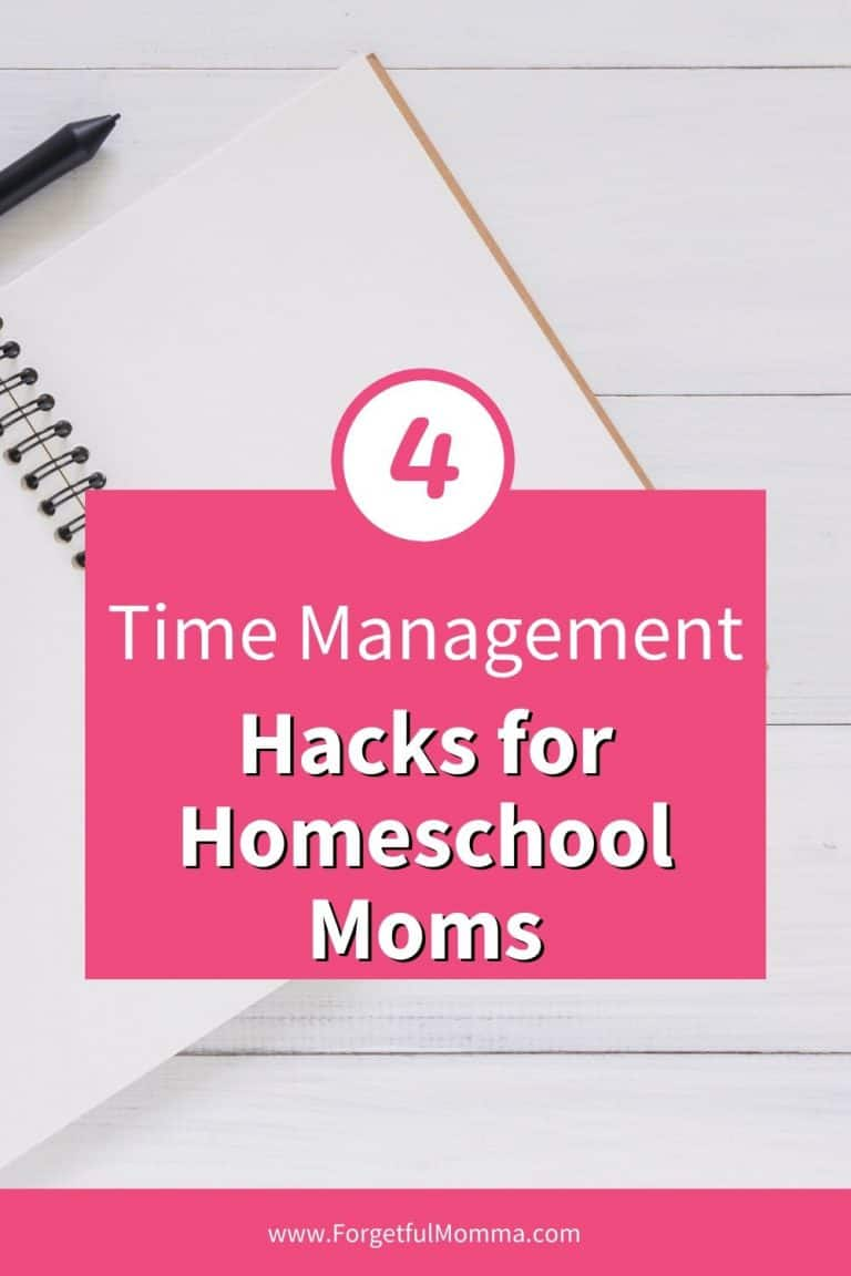 Time Management Hacks for Homeschool Moms