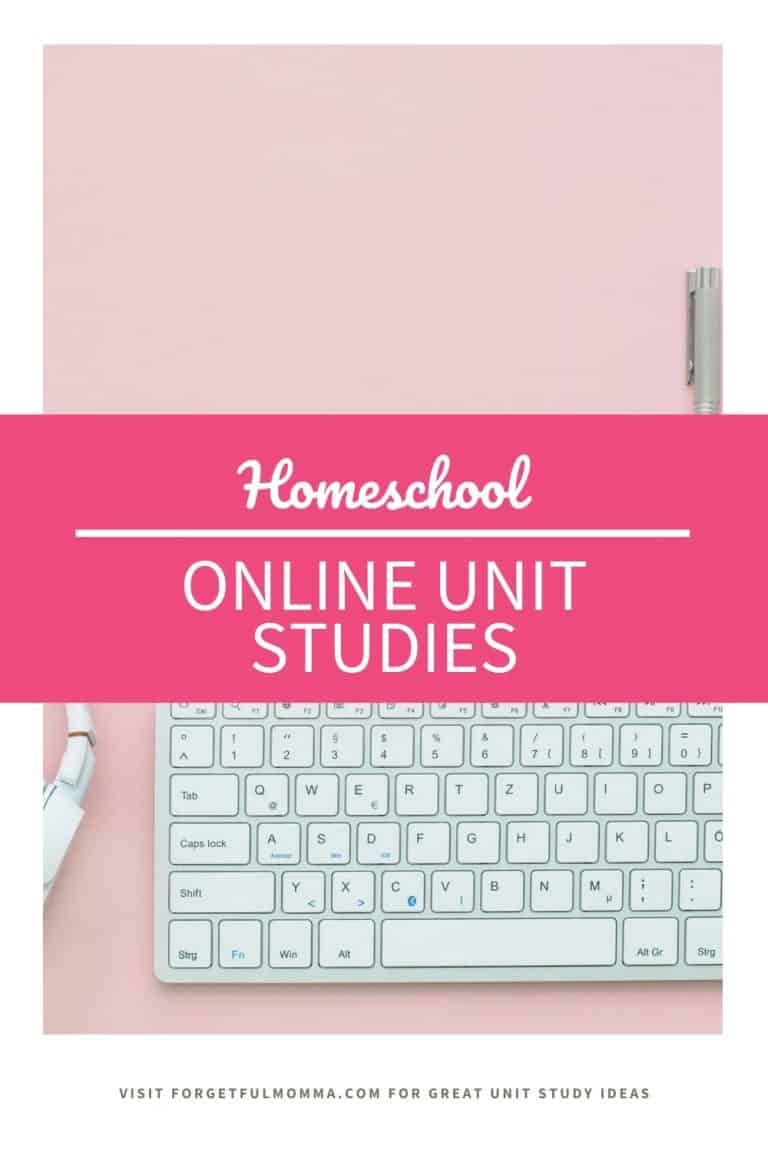 Learning with Online Unit Studies for Homeschoolers
