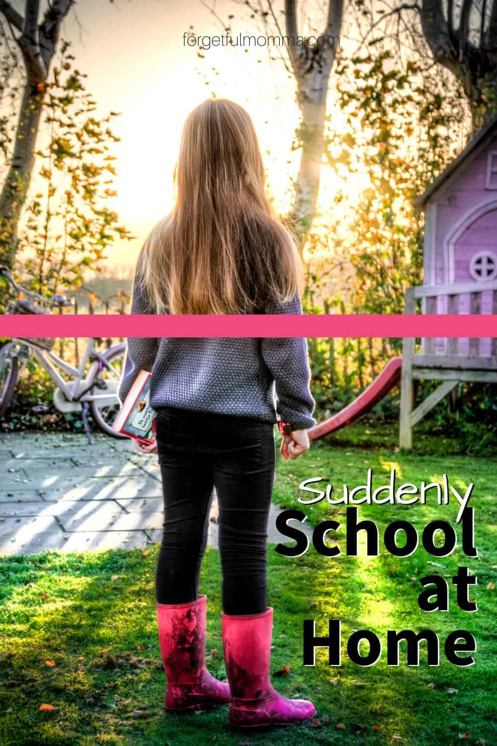 Suddenly homeschooling - school at home