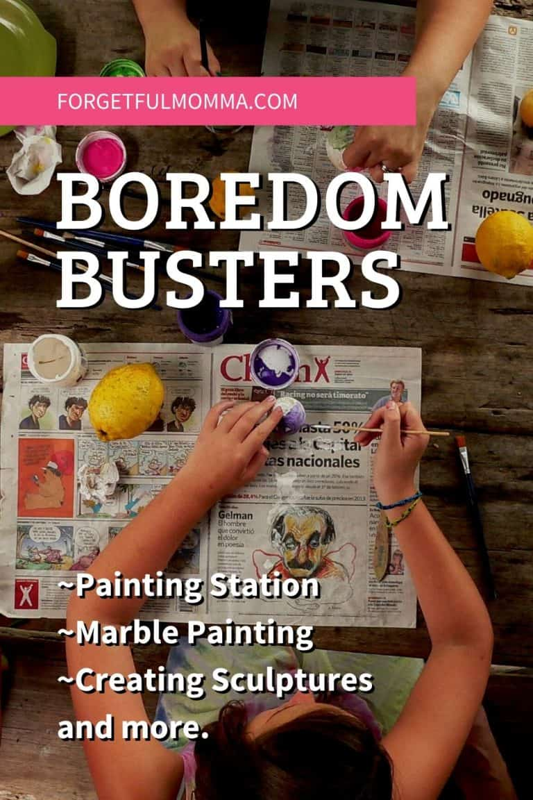 Boredom Busters for Your Sanity