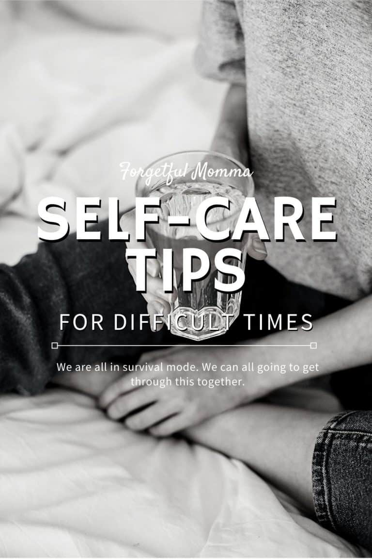Self-Care Tips During Difficult Times