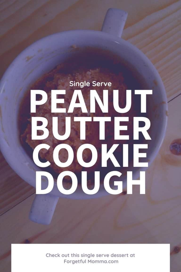 Peanut Butter Cookie Dough for One