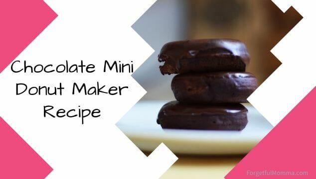 Chocolate Mini Donut Maker Recipe