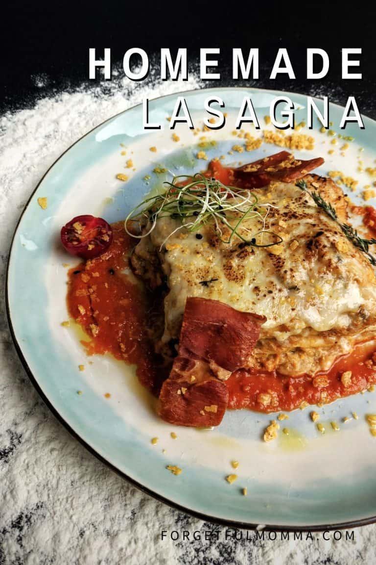 Easy to Make Homemade Lasagna