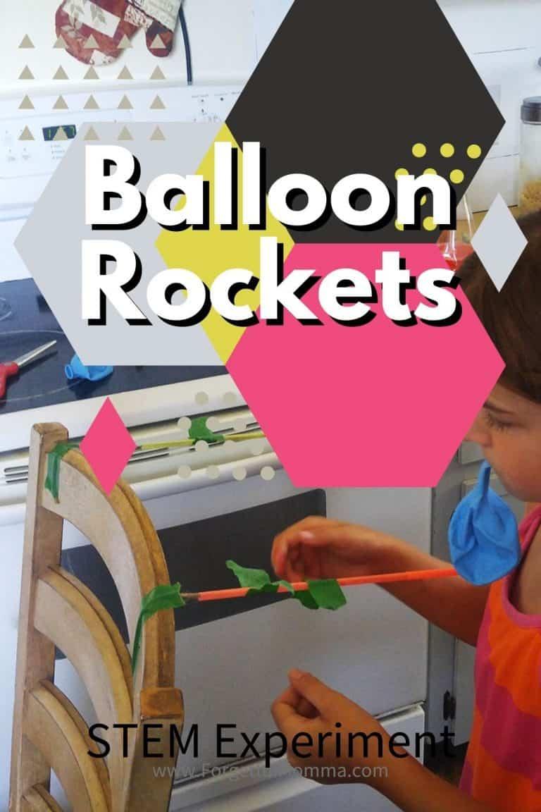 Balloon Rockets STEM Experiment
