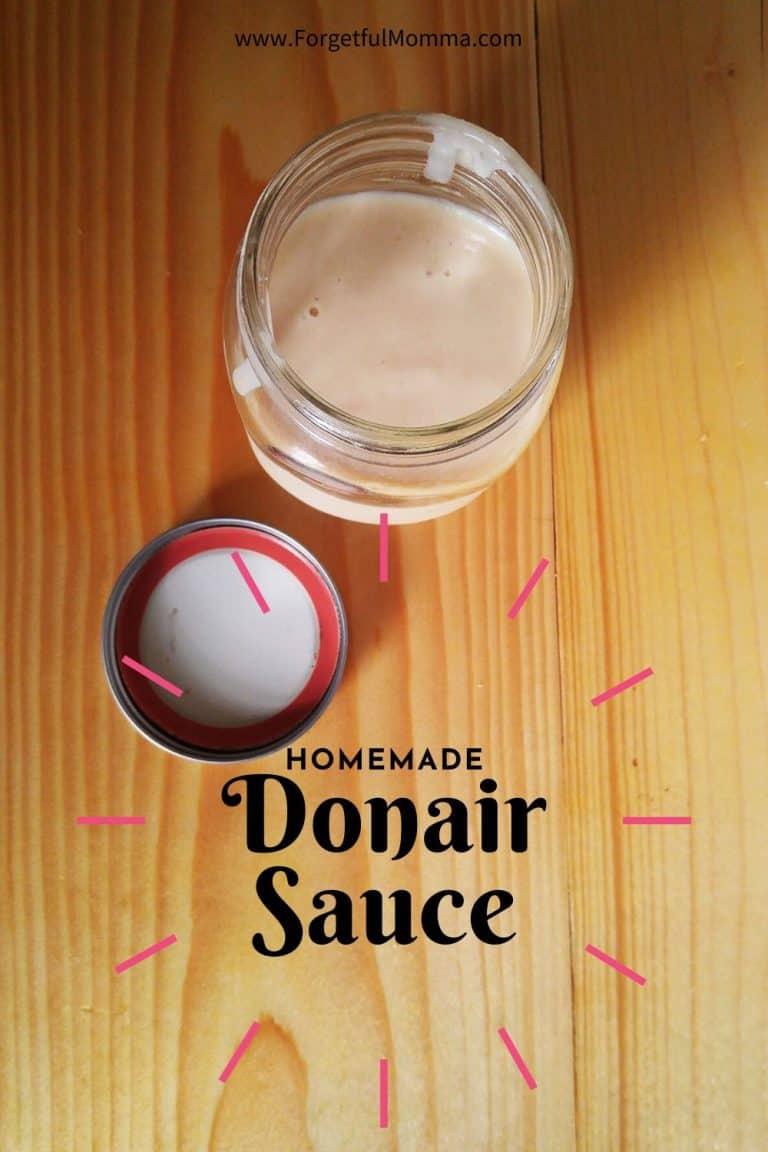 Sweet Donair Sauce Recipe