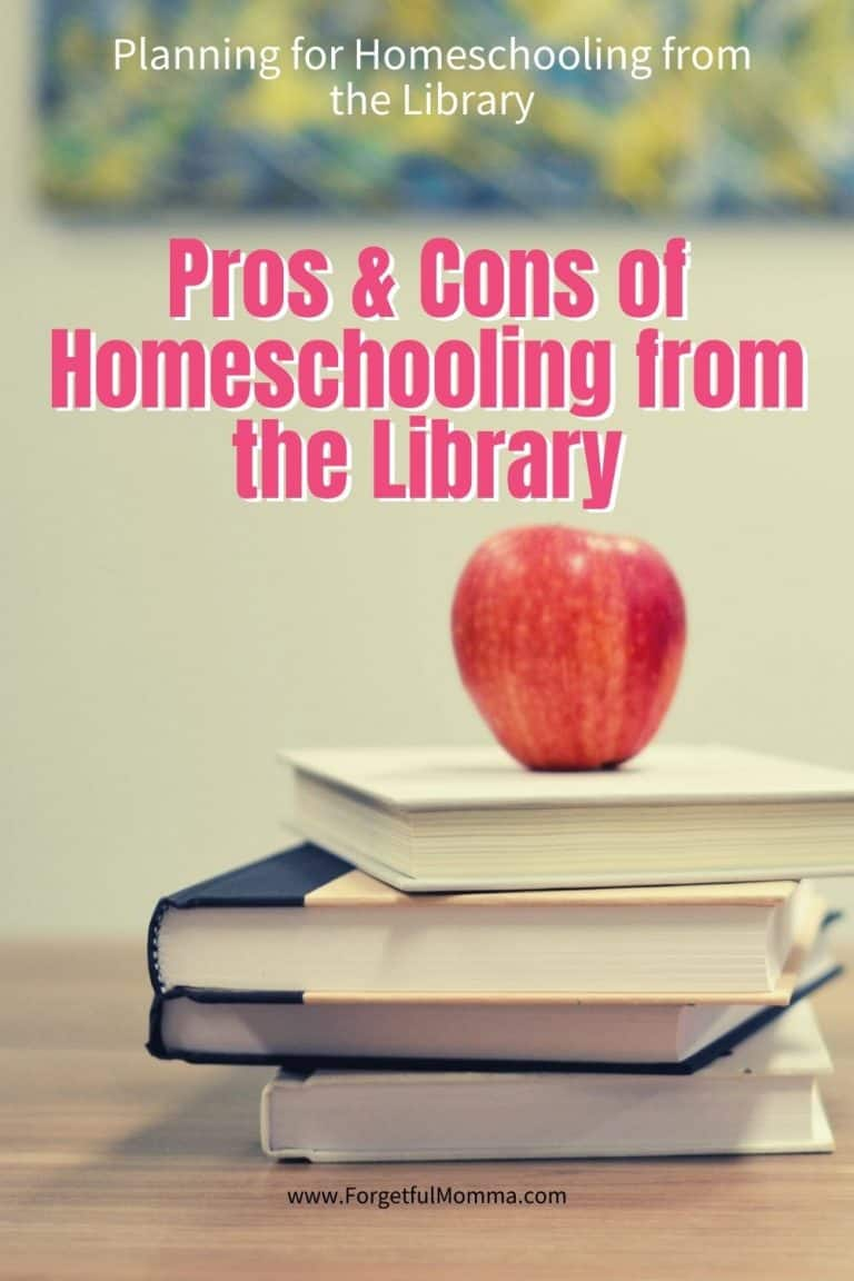 Pros & Cons of Homeschooling from the Library