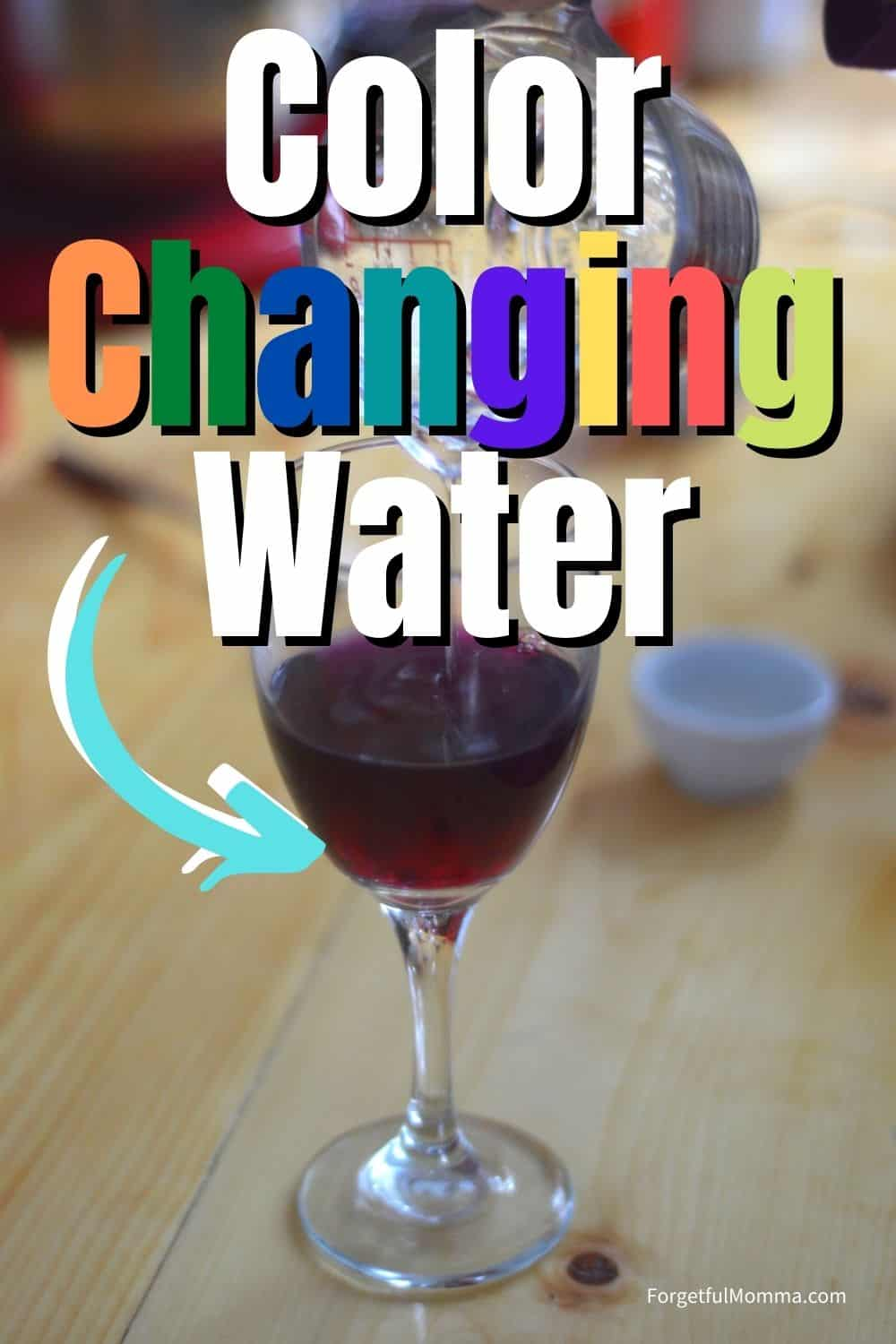 Color Changing Water