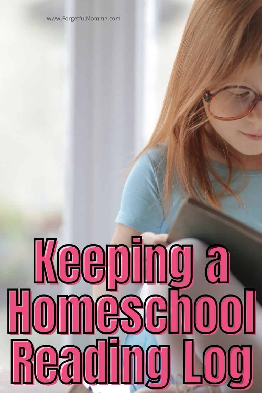 Keeping a Homeschool Reading Log