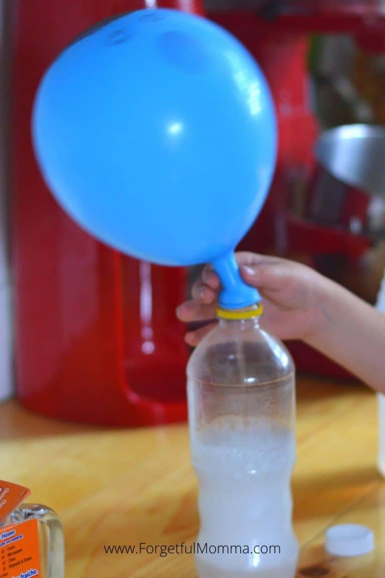 Self Inflating Balloon Experiment