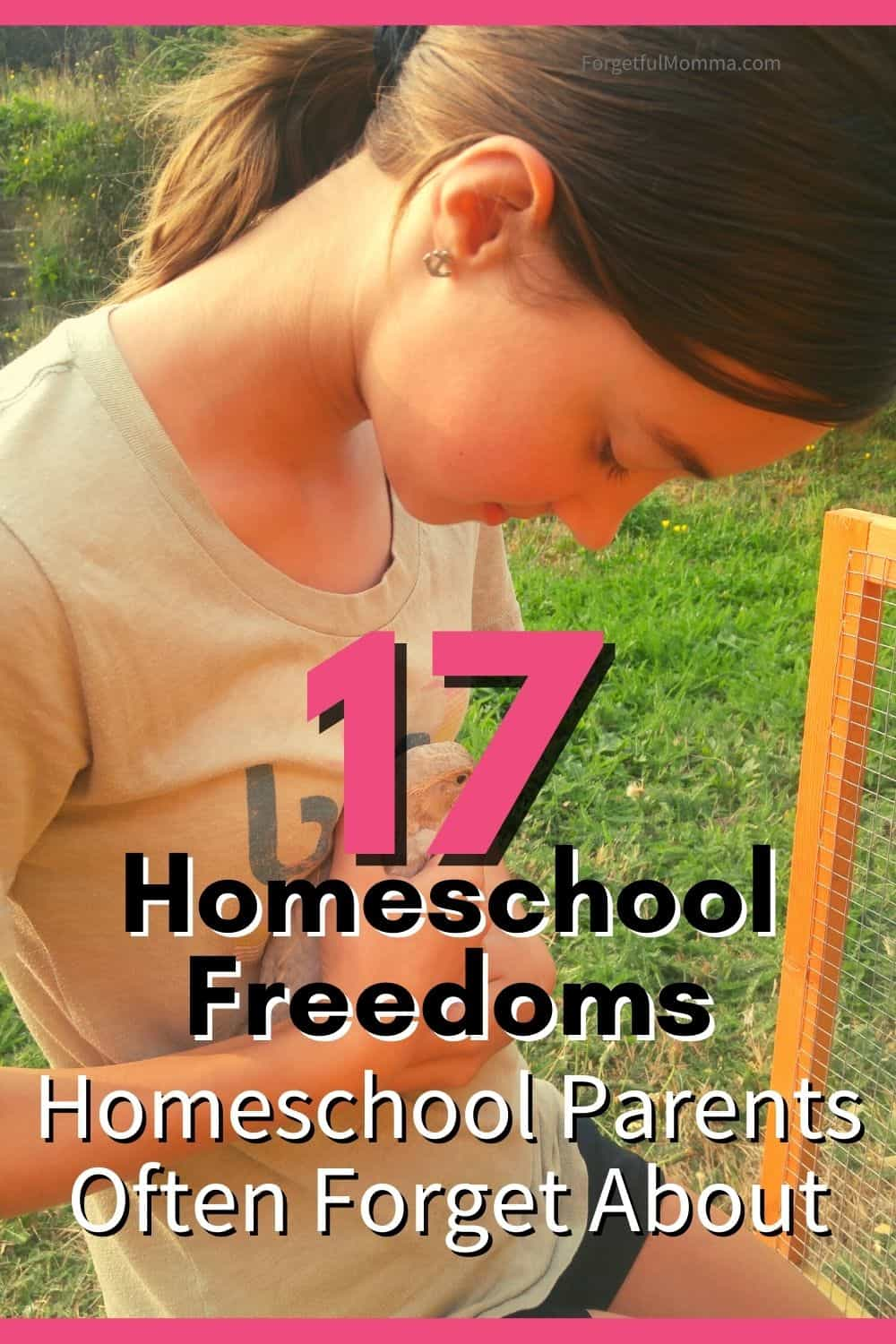 17 Homeschool Freedoms We Forget About