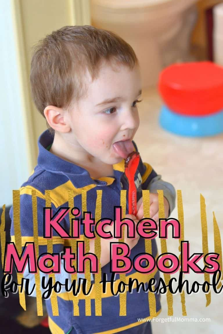 Kitchen Math Books for Your Homeschool