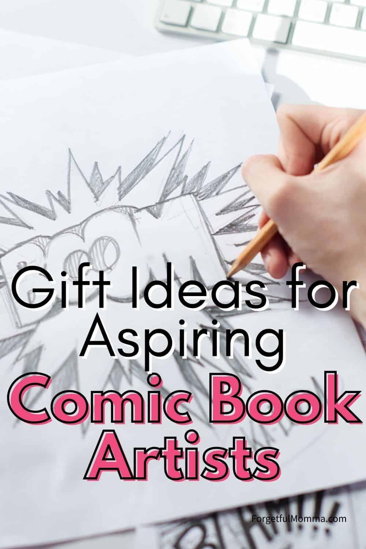 Gift Ideas for Aspiring Comic Book Artists