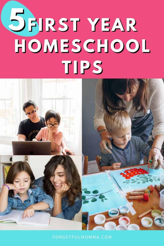 5 First Year Homeschool Tips
