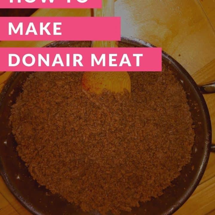 Homemade Donair Meat Recipe
