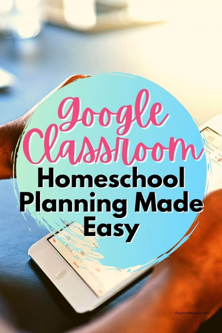 Google Classroom: Homeschool Planning Made Easy