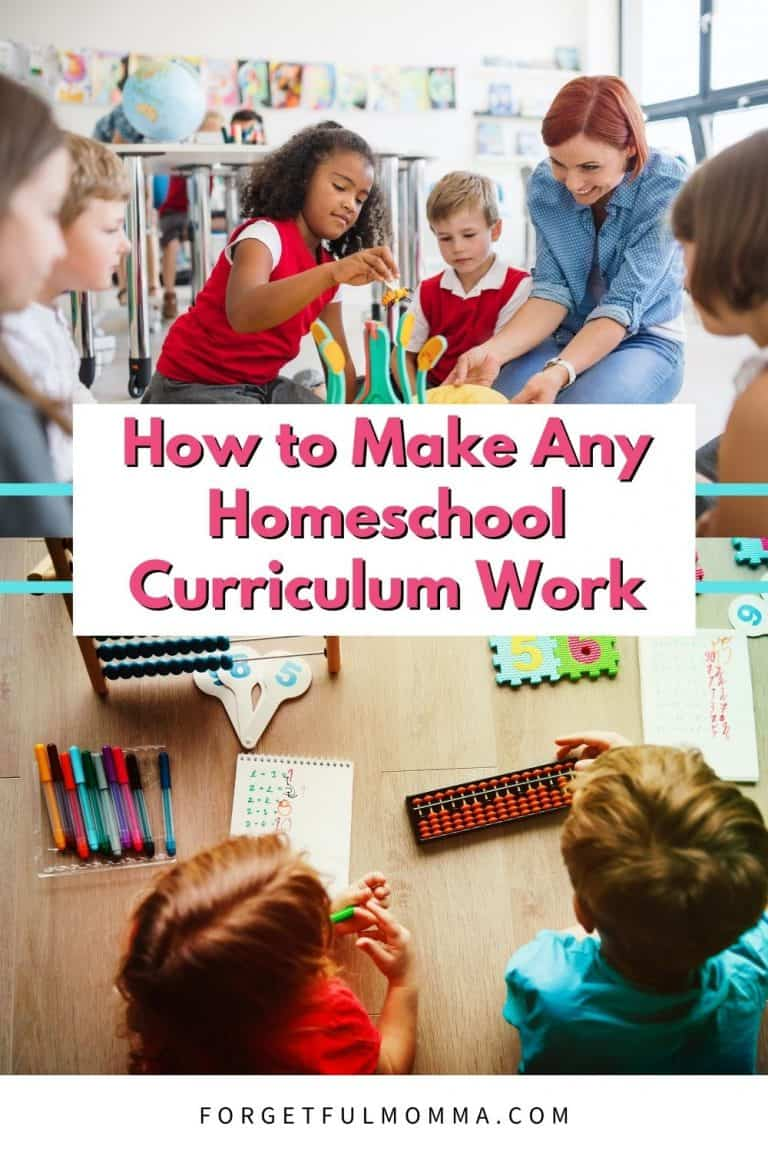 How to Make Any Homeschool Curriculum Work