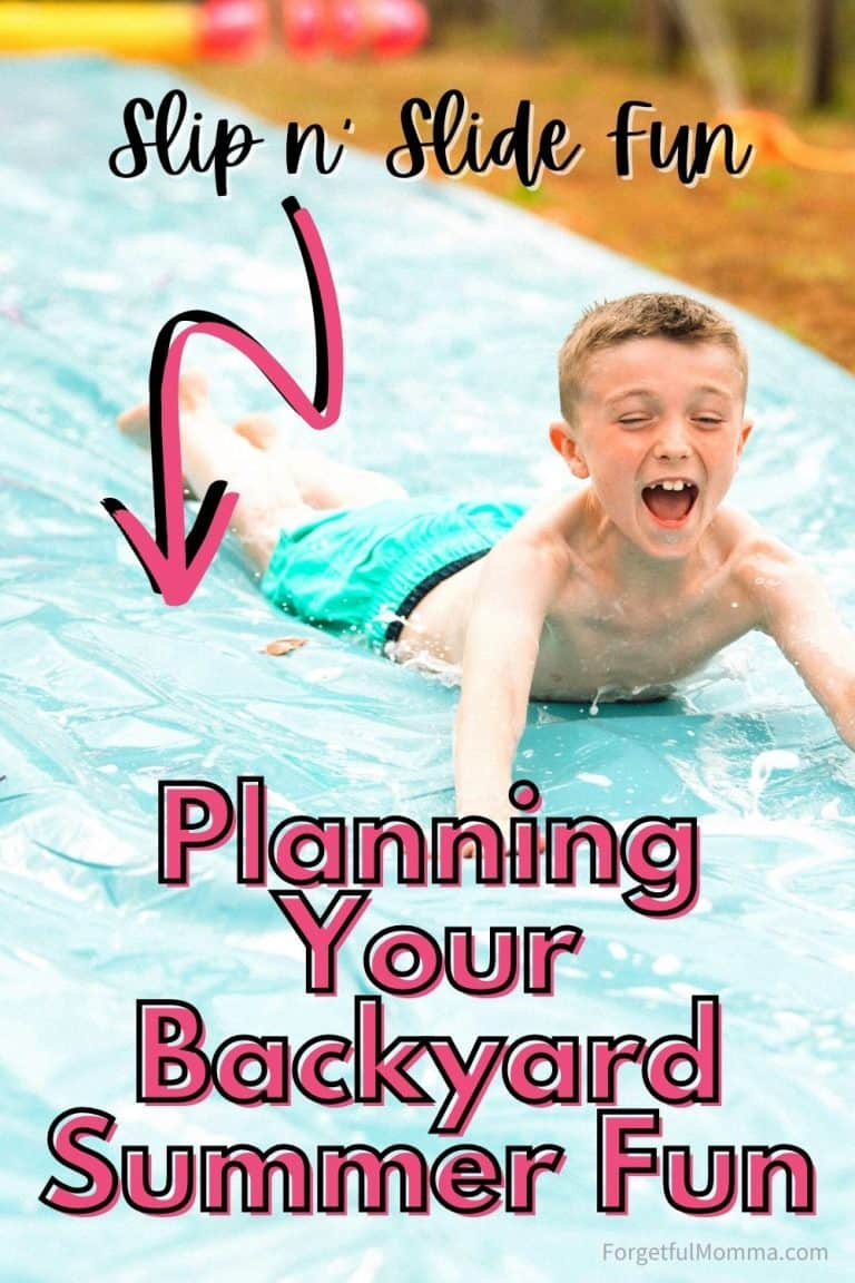 Planning Your Backyard Summer Fun