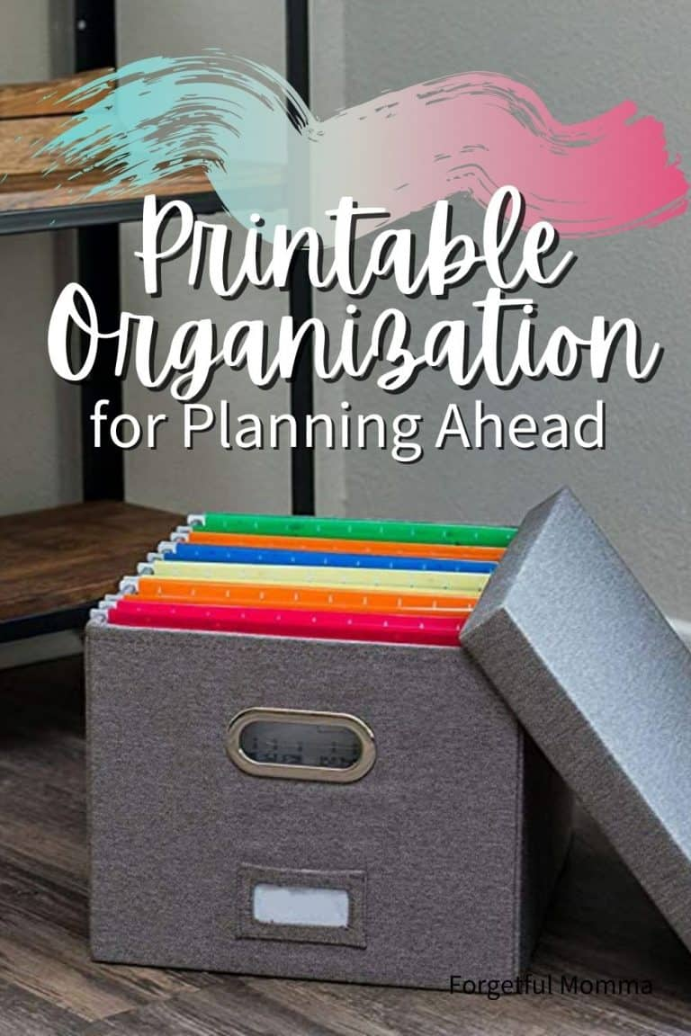 How to Store Your Printables – Printable Organization