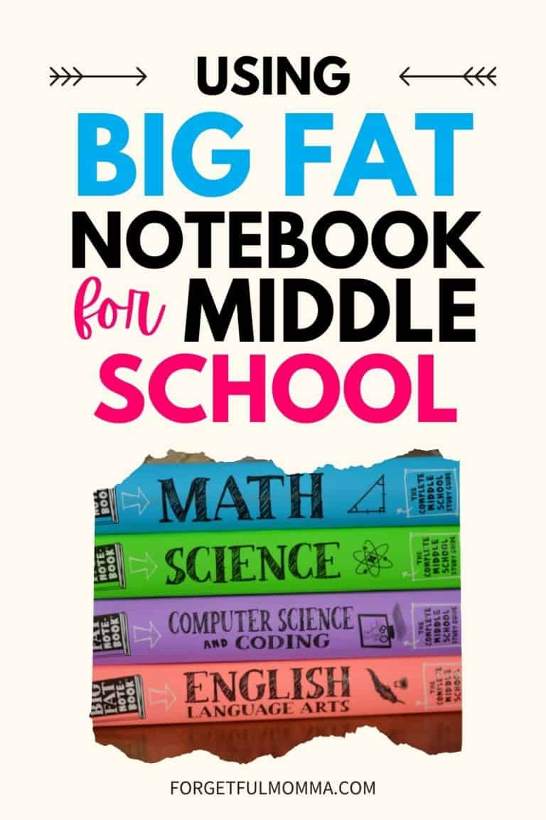 Big Fat Notebooks for Middle School