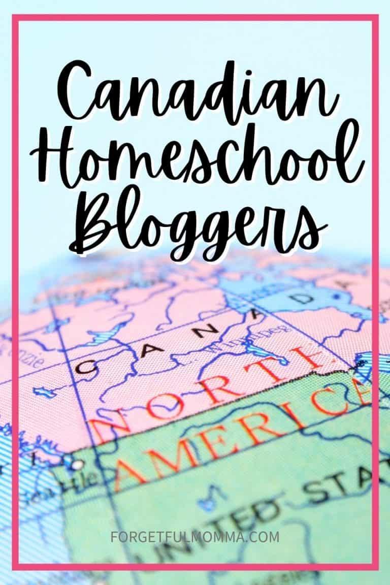Canadian Homeschool Bloggers