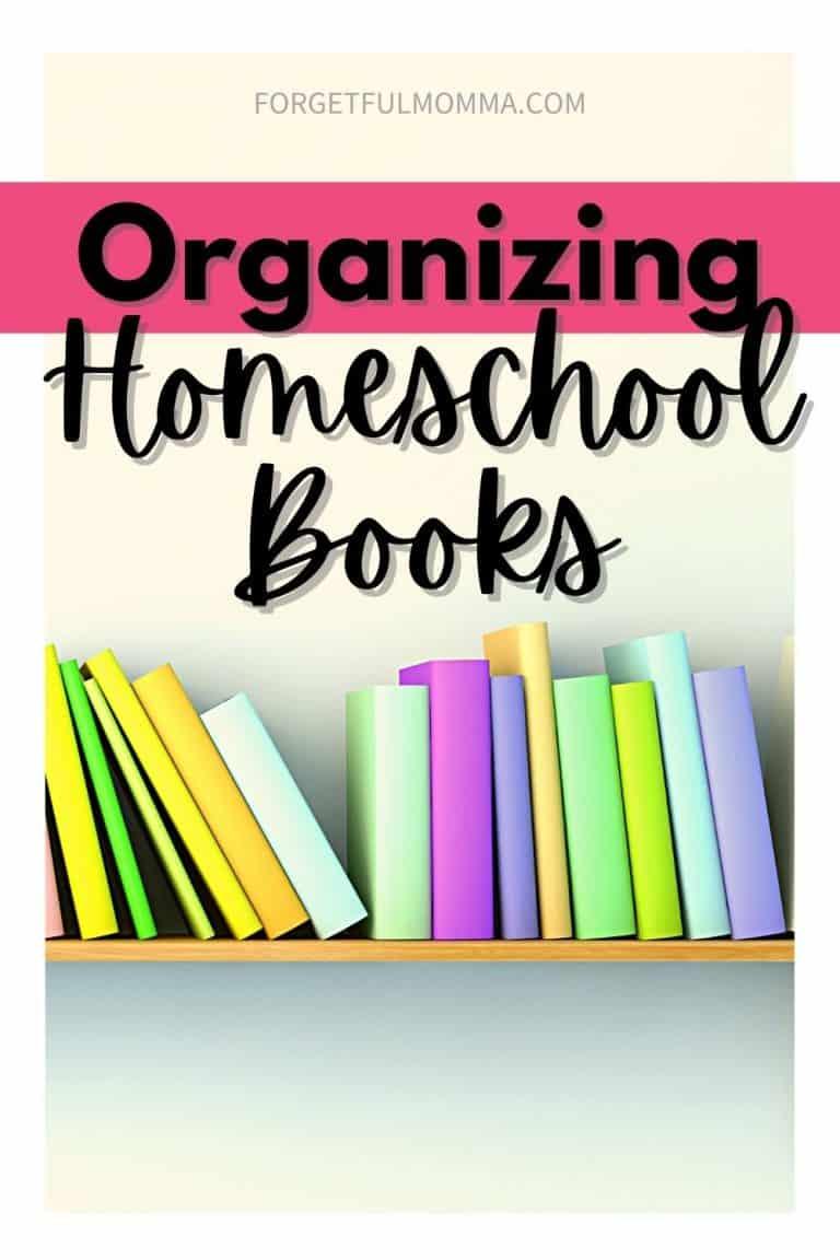 Hacks for Organizing Homeschool Books
