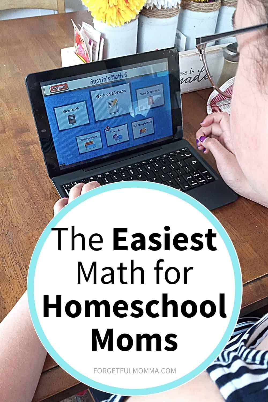 Teaching textbooks - The Easiest Math for Homeschool Moms