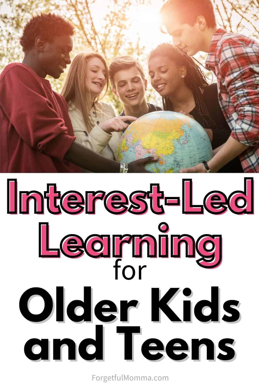 Interest-Led Learning for Older Children