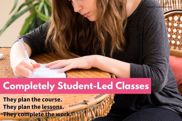 Completely Student-Led Classes – That They Create