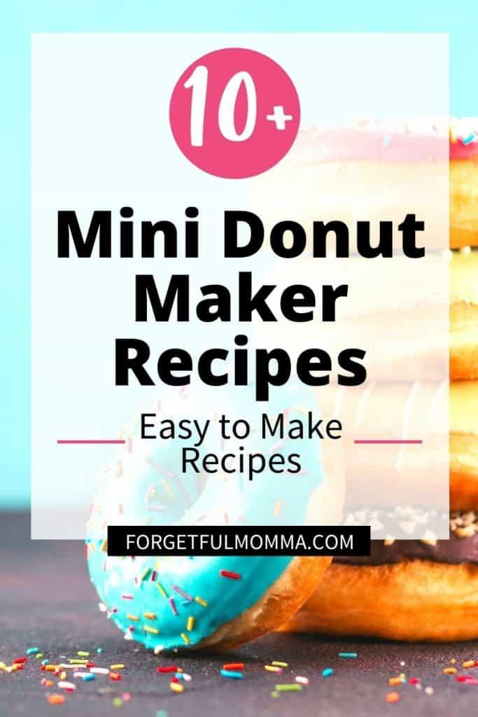 10+ Mini Donut Maker Recipes