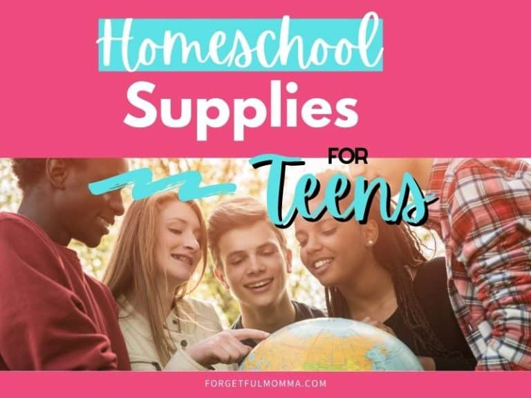 Homeschool Supplies for Teens to Promote Independence