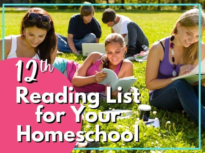 12th Grade Reading List for Homeschool