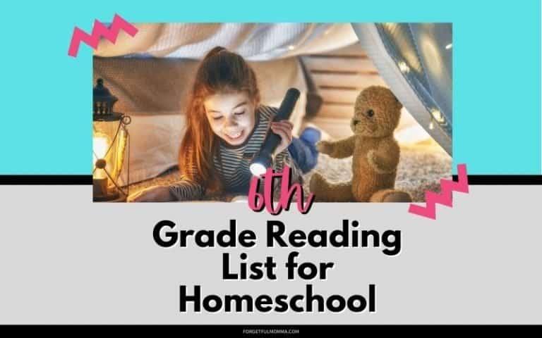 6th Grade Reading List for Homeschool
