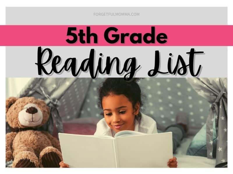 5th Grade Reading List for Homeschool