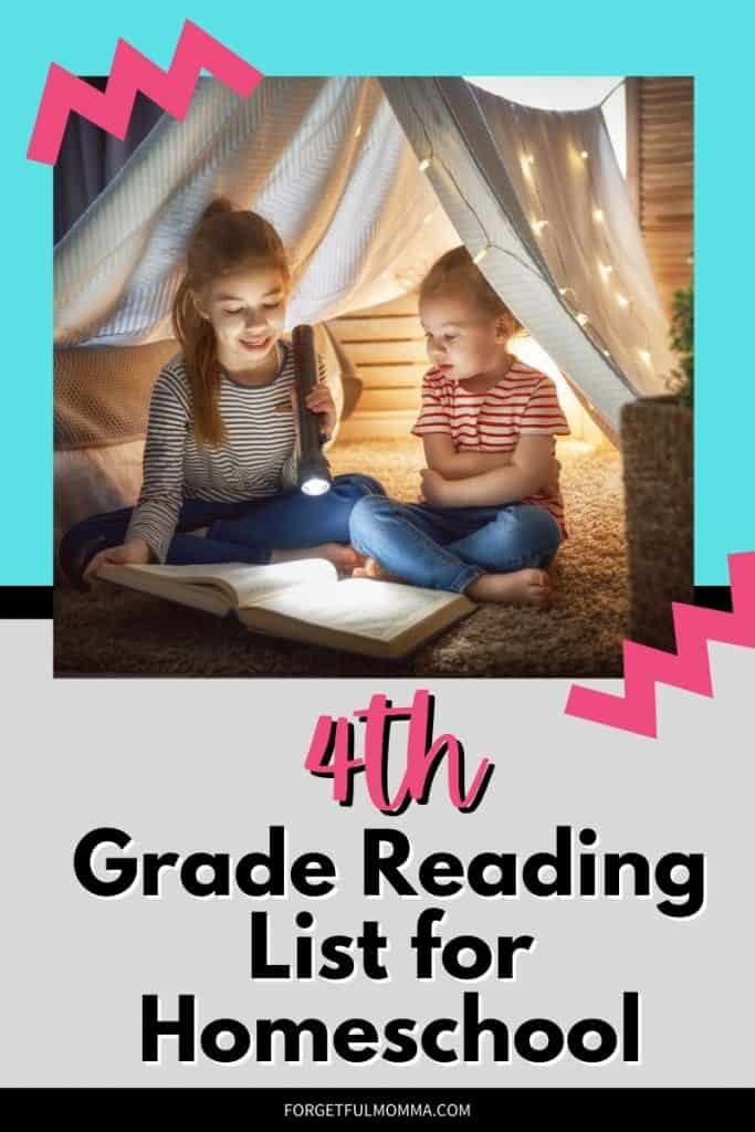 4th Grade Reading List for Homeschool